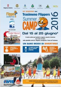 Volantino camp 2016